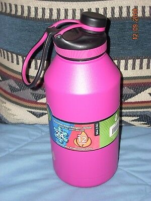 239b0d2481 Pink 64 oz Water Bottle TAL Ranger Pro Double Wall Vacuum Insulated  Stainless