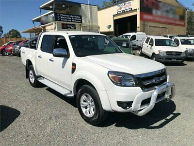 2010 Ford Ranger PK XLT White Automatic A Utility