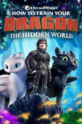 Y163 How to Train Your Dragon 3 The Hidden World Movie Art Wall Silk Poster