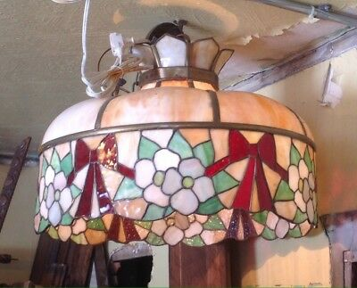 Stained Glass Chandelier 1