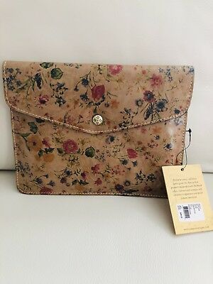 Patricia Nash NWT Midi Clutch/Case Front Flap Magnetic Snap Closure Prairie Rose