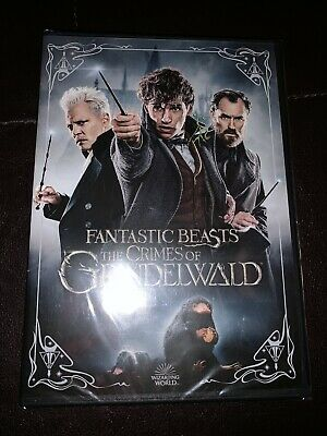 Brand New Fantastic Beasts The Crimes of Grindelwald 2019 DVD