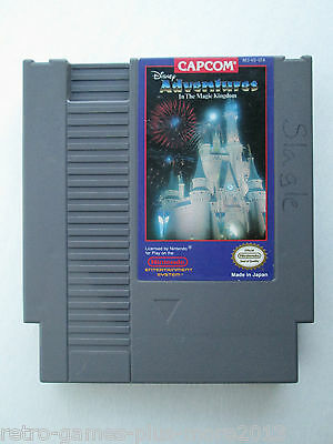 Disney Adventures in the Magic Kingdom (Nintendo NES, 1990) Game Only (NTSC)