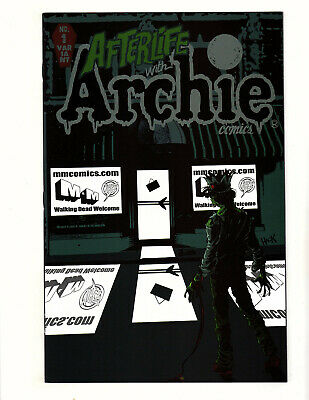 Afterlife with Archie #1 (2013) NM- M&M Comics Variant Robert Hack Zombie Horror