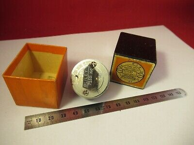 VINTAGE 1940's QUARTZ CRYSTAL BLILEY VF1 VARIABLE FREQUENCY 7155 KC +BOX &9-A-59