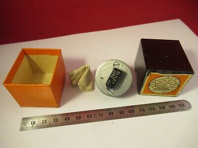VINTAGE 1940's QUARTZ CRYSTAL BLILEY VF1 VARIABLE FREQUENCY 3542 KC +BOX &9-A-58