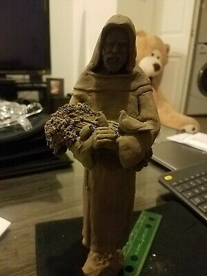 Antique Hand Crafted saint statue