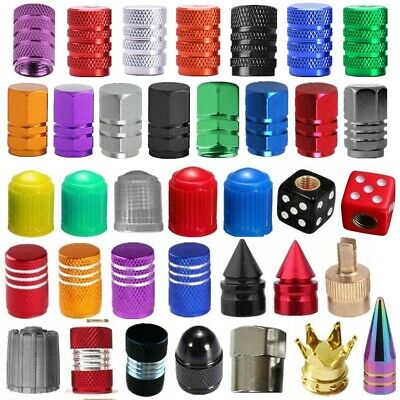 4/10/100x Universal Car Truck Bike Air Port Cover Tire Rim Valve Wheel Stem Caps