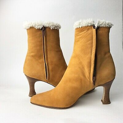2507f531534 BALLY WOMEN'S VONDA Ankle Leather Ankle Boots - $24.99 | PicClick