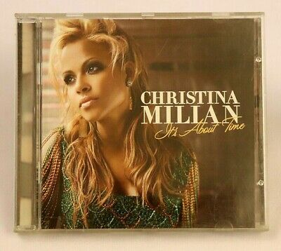 Christina Milllan Its About Time CD 2004 Island Records Def Jam Music R&B