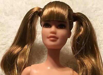 FASHIONISTA  #108 TALL FASHIONISTA BARBIE DOLL PIGTAILS,FRECKLES ALL OVER
