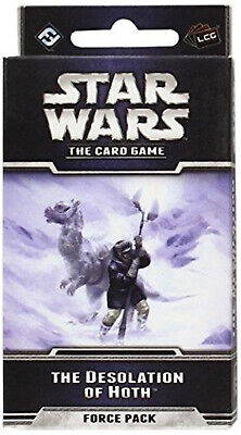 Star Wars - The Desolation of Hoth Force Pack Expansion - English LCG Card Game