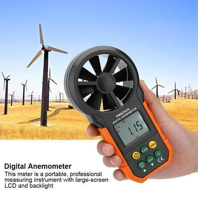 PEAKMETER PM6252A Digital Wind Speed Meter Air Volume Measuring Anemometer SH