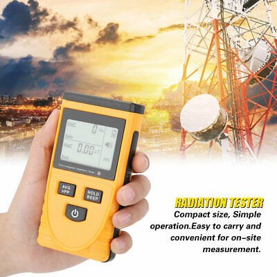GM3120 Digital Electromagnetic Radiation Detector EMF Tester SH