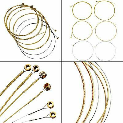 Brass Steel Replacement Guitar Strings Spare Gauge Acoustic Classical Guitars
