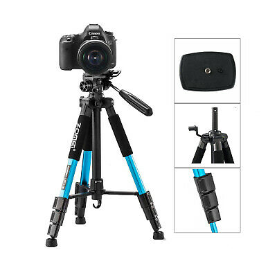 ZOMEI Portable Professional Travel Aluminium Tripod &pan head  for DSLR Camera