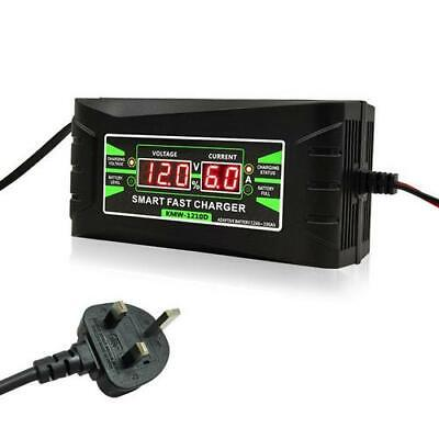 12V Automatic Electronic Intelligent Smart Fast Battery Charger Car Motorbike IB