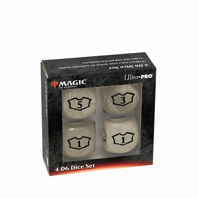 Ultra Pro Deluxe 22MM White Mana Loyalty Dice Set for Magic: The Gathering