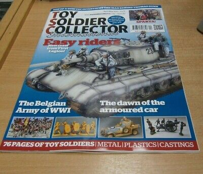 Toy Soldier Collector International magazine #87 APR/MAy 2019 Belgian Army; WWI