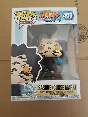 New Funko Pop Anime Naruto Shippuden Sasuke Curse Mark Convention Exclusive!!