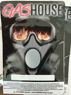 1x NEW Gas House Mylar Bag Cali tin label CaliLabels