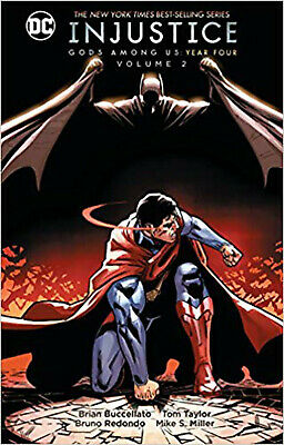 Injustice Gods Among Us Year Four HC Vol 2, Buccellato, Brian, New Book