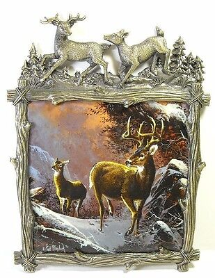 Winter's Majesty Wilderness Glory Tile Ted Blaylock 2005 Bradford Exchange A/569
