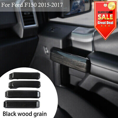 JeCar Door Handle Covers For 2014-2017 Ford F150 Accessories(B Style,Red