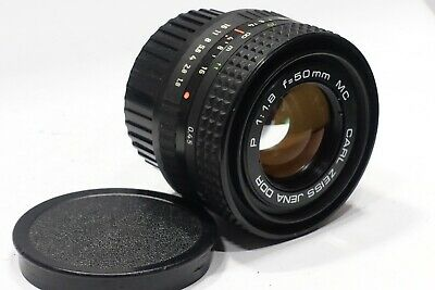 Carl Zeiss Jena P 50mm 1:1.8 MC camera Lens, Praktica PB or Zeiss Jenaflex mount