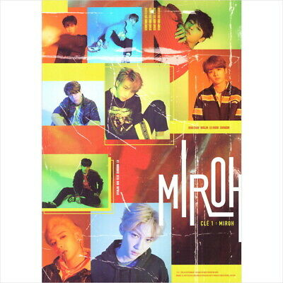 Stray Kids - Cle 1 : Miroh (4th Mini) Miroh Normal CD+Photobook+Photocard+Poster