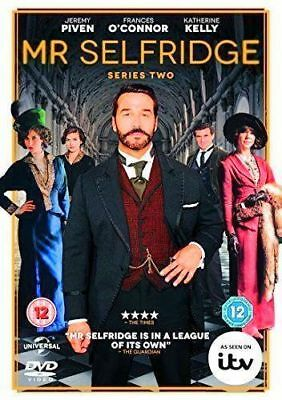Mr Selfridge Series Two 2 Jeremy Piven Frances O'connor Universal Dvd New Sealed