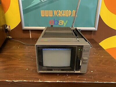 Sony KV-6000 Trinitron Colour TV FOR SL-F1e Portable Betamax (VERY RARE)