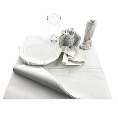 """250 xMedium 18 x 24"""" White Packing Paper Chip Shop Paper Newspaper Sheets Offcut"""