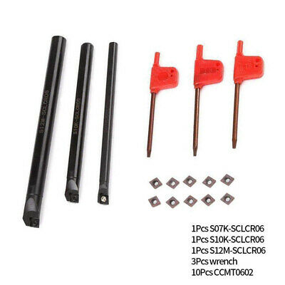 S12M-SCLCR06 12×150mm HOLDER CNC turning tool for CCMT0602** CNC INSERT