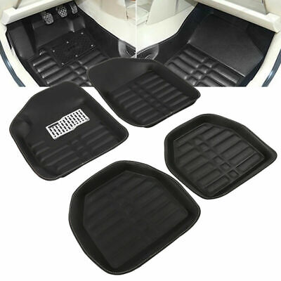 5pcs Auto Car Mat Universal Floor FloorLiner Front&Rear All Weather Carpet Mats