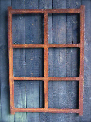 Iron Window, Angular Window Made of Cast Iron, Barn Window, like Antique, New