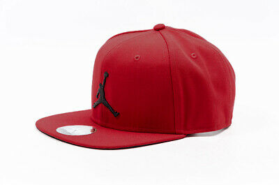 3263f4062d5 Nike Unisex Air Jordan PRO JUMPMAN Snapback Hat Gym Red/Black AR2118-687 d
