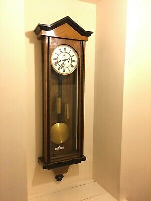 Double weighted Slim Vienna wall clock