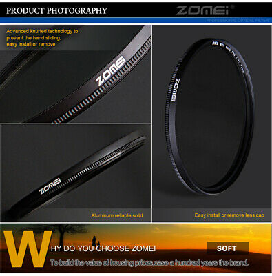 ZOMEI 67mm Ultra Slim HD CPL Filter Circular Polarizing Filter For Canon Sony