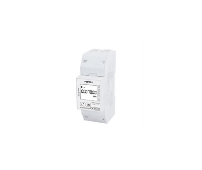 Perry Electric 1Sdsd05Cem2Mid Contatore Di Energia Monofase 2Din Cert. Mid