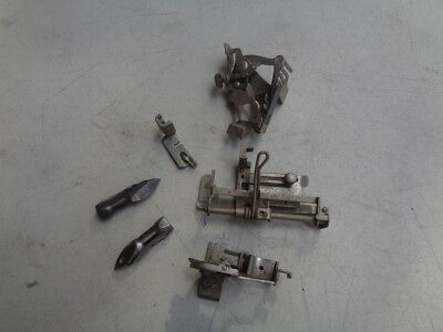 Lot of 6 Various Vintage Singer Sewing Machine Parts, Attachments