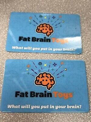 $100 Fat Brain Toys Gift Card (2 $50 Cards)