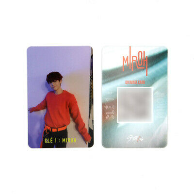 [STRAY KIDS]SKZ / Cle1 : MIROH Official Photocard/CLE 1:MIROH LOGO/I.N