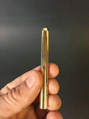 "3"" Brass One Hitter Pipe- Straight One Hitter"
