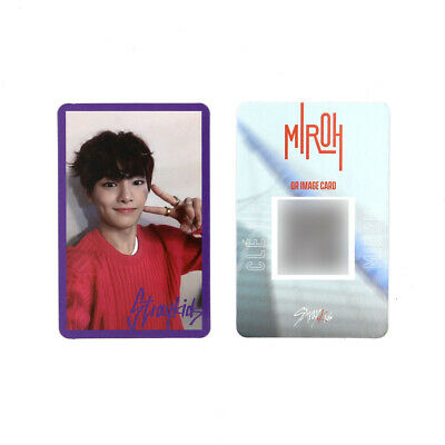 [STRAY KIDS] SKZ / Cle1 : MIROH Official Photocard / Purple Border / I.N