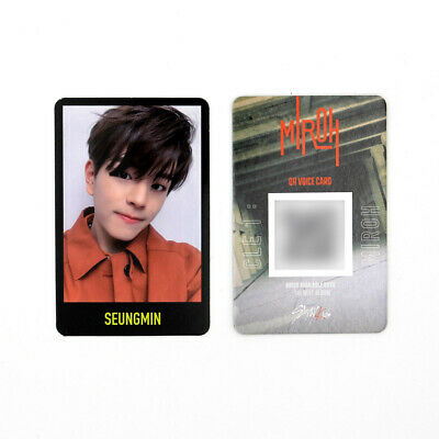 [STRAY KIDS] SKZ / Cle1 : MIROH Official Photocard / Black Border - SEUNGMIN