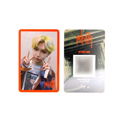 [STRAY KIDS] SKZ / Cle1 : MIROH Official Photocard / Red Border - FELIX
