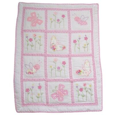 Powell Craft Colcha Cuna Mariposas