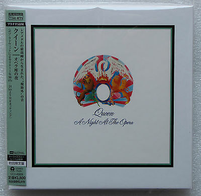 Queen , A Night At The Opera  ( Platinum-SHM , Japan )