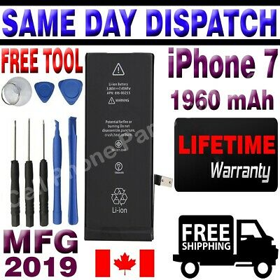 Brand NEW Orignal OEM Replacement iPhone 7 Battery 1960 mAh With Free Tools